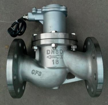 「高溫電磁閥」高溫電磁閥的改進設計及應用