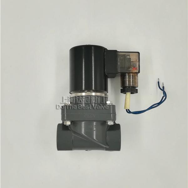 PVC防腐電磁閥